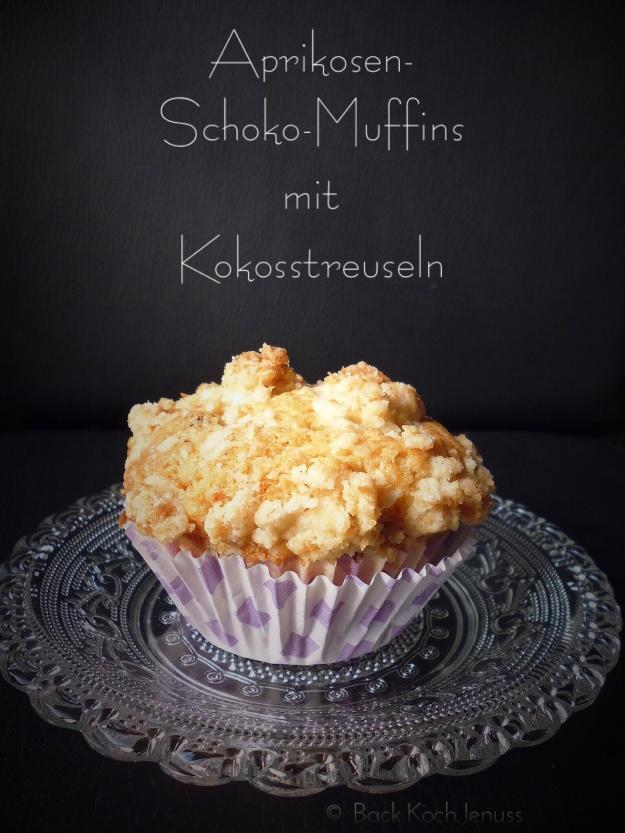 Aprikosen-Schoko Muffins