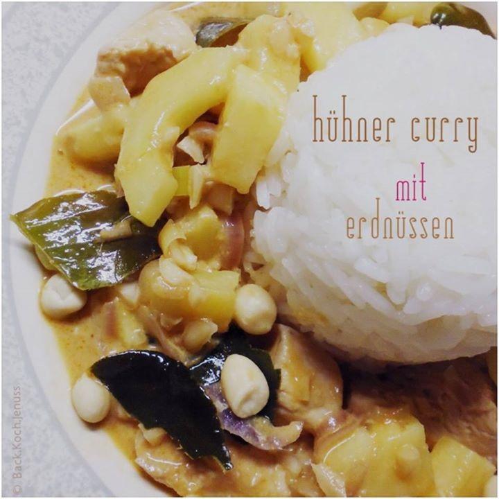 Hühner Curry mit Erdnüssen