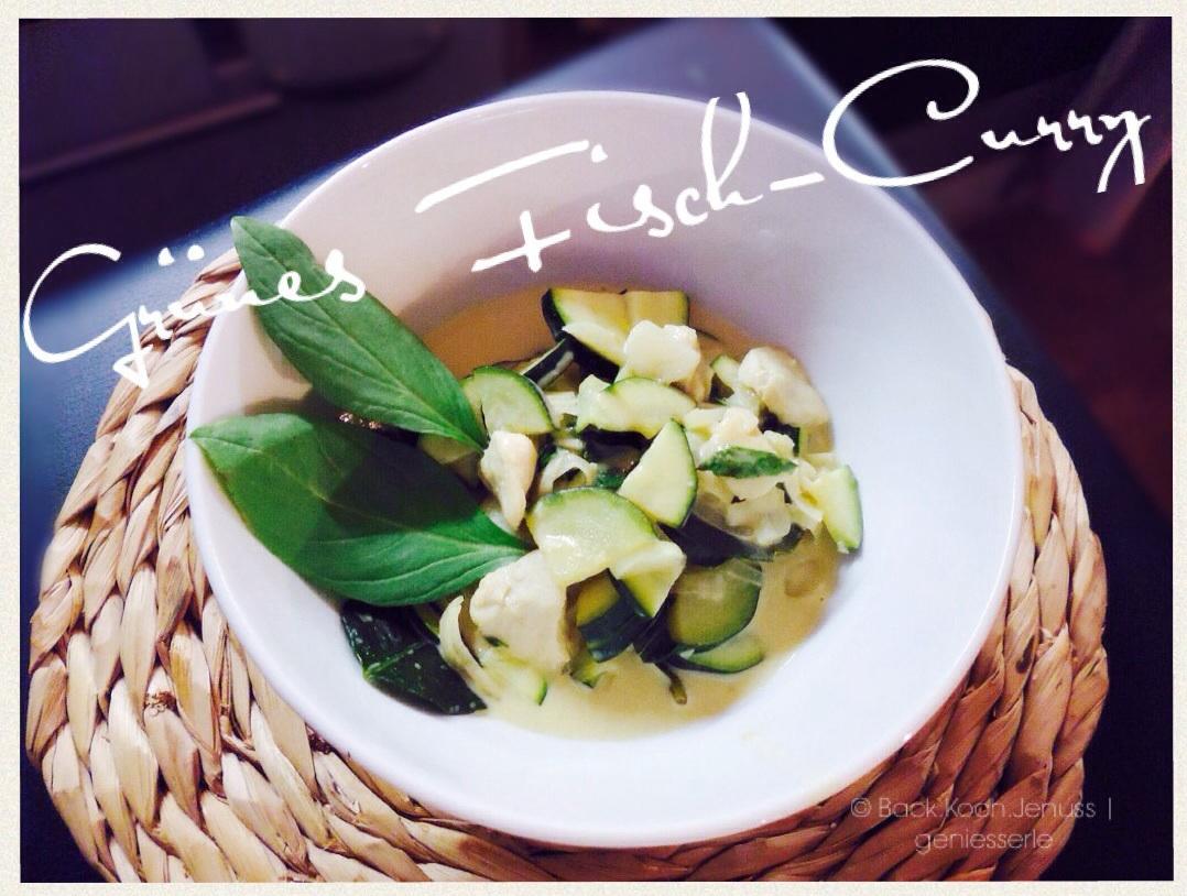 grünes Fisch Curry