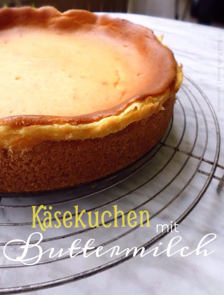 Käsekuchen mit Buttermilch