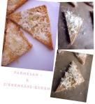 Parmesan-Ziegenkäse - Ecken