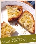 Bruschetta mit Olivenöl, Knoblauch & Fleur de Sel