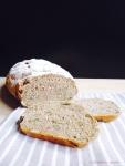 Kürbis-Walnuss-Brot mit Haferkleie