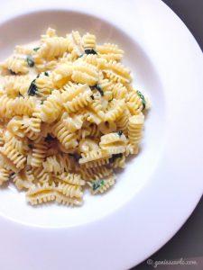 Pasta mit Bärlauch & Gorgonzola