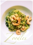 Zucchini-Nudeln mit Garnelen ¦ Zoodles. Pasta mal anders