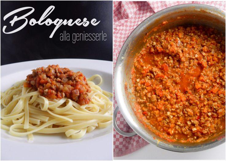 Sauce Bolognese alla geniesserle